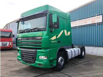 DAF XF105-410 SPACECAB (MANUAL GEARBOX / ZF-INTARDER / HYDRAULIC KIT / EURO 5) - شاحنة جرار