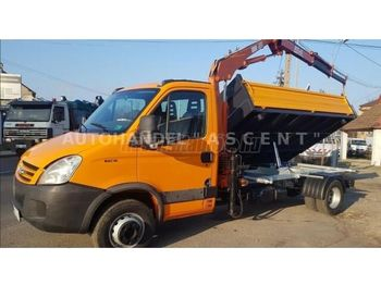 IVECO Daily 65 C 18 Darus 3 old. Billencs - قلابات