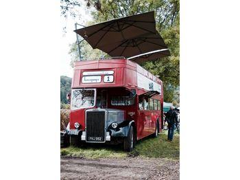 Leyland PD3 British Double Decker Bus Open Top Deck Pub Bar Hospitality - حافلة ذات طابقين