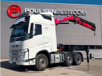 Volvo FH460 6x2 Pusher crane - شاحنة جرار