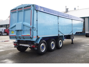 قلابة نصف مقطورة Weightlifter Tipper trailer alu 51.5 m3 + tarpaulin: صور 4