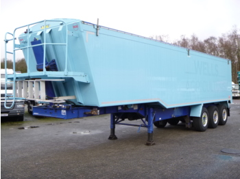 قلابة نصف مقطورة Weightlifter Tipper trailer alu 51.5 m3 + tarpaulin: صور 1
