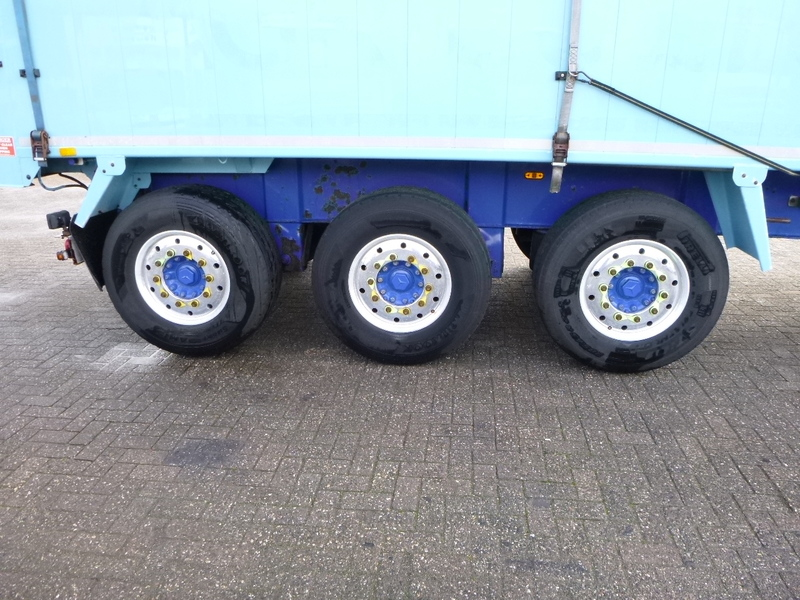 قلابة نصف مقطورة Weightlifter Tipper trailer alu 51.5 m3 + tarpaulin: صور 6